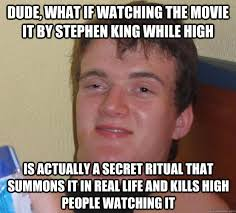 Stephen King Meme - stephen king castle rock or bust pinterest