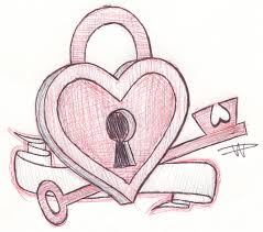 gallery sketches of love hearts drawing art gallery