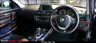 bmw 1 series price in india bmw 1 series pictures launch report team bhp
