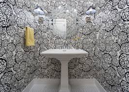 wallpapered bathrooms ideas 15 beautiful reasons to wallpaper your bathroom hgtv s