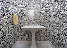 wallpaper bathroom designs 15 beautiful reasons to wallpaper your bathroom hgtv s