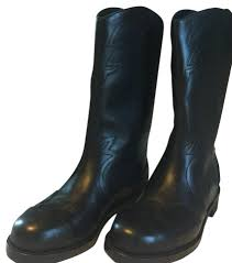 short bike boots chanel short bike cowboy black boots on sale 41 off boots