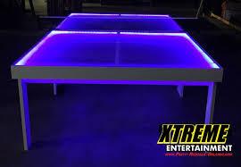 Ping Pong Table Rental Led Ping Pong Table Party Rentals Orlando