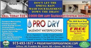Basement Waterproofing Specialists - basement waterproofing chatham nj chatham nj waterproofing