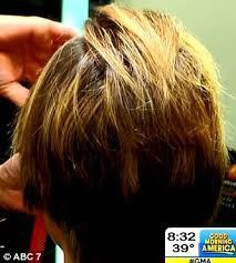 how to cut your hair like amy robach amy robach gets her hair cut short in front of the cameras one