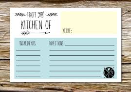 printable recipe cards template 10 printable recipe card templates free tip junkie