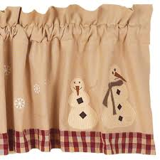 winter wonderland valance country village shoppe