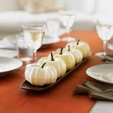 White Ceramic Pumpkin Centerpiece by Kid Activities Autumn Decorating And Centerpieces