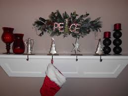 home decoration ideas for christmas decorating silver pewter christmas stocking holders for mantle