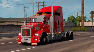 kenworth trailers kenworth t800 interior v1 2 1 american truck simulator mods