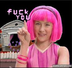 Lazy Town Meme - to whoever don盍t get my stuff featured gifs and humour