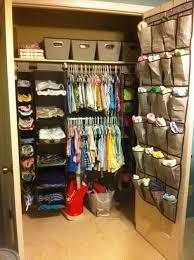 nursery closet organization baby burns pinterest baby