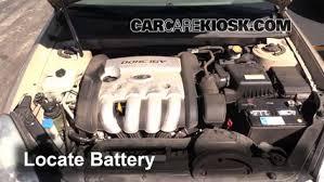 2007 hyundai sonata battery how to clean battery corrosion 2006 2010 kia optima 2007 kia