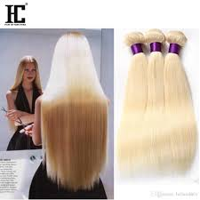 Blonde Weft Hair Extensions by Cheap Top Malaysian Virgin Hair Straight Blonde 613 Soft Malaysian