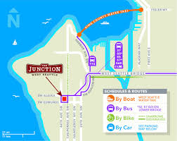 Seattle Map Downtown by Maps West Seattle Summer Fest