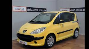 used peugeot 1007 peugeot 1007 1 4 hdi automóviles mexur youtube
