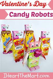 Walmart Valentine Decorations Valentine U0027s Day Candy Robots