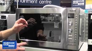 Panasonic Kitchen Appliances India Panasonic 42l Convection Microwave Oven Nn Cd997s Youtube