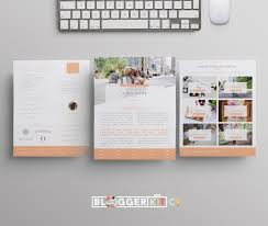 mommy blogger media kit template diy media kit templates