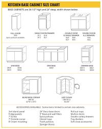 kitchen cabinet spec sheet kitchen kitchen cabinet sizes chart