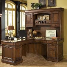 White Office Desk With Hutch Black L Shaped Computer Desk With Hutch Designs Ideas And Decors