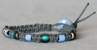 Beaded Jewelry Making - how to macramé a hemp bracelet u2013 rings and things