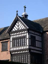 free stock photo of close up of bramall hall in manchester