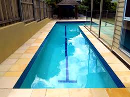 Bedroom Scenic Images About Pools Side Yard Lap Pool Designs