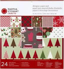 amazon com martha stewart crafts cottage christmas designer paper