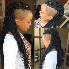 15 packs of hair to do bx braids 15 best mohawk braid styles with shaved sides images on pinterest