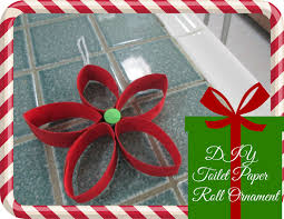 diy christmas decor recycled toilet paper roll ornament youtube