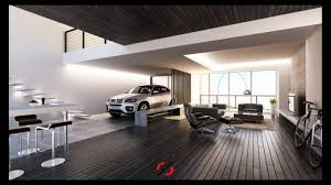 Interior Of Home Garage Living Room Youtube