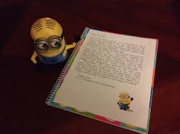 Journal Decorating Ideas by Take Home Minion Journal Kids Get Crayons A Pencil The Journal