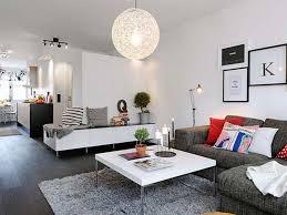 interior scandinavian interior design in a beautiful small