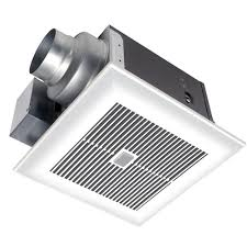 Super Quiet Bathroom Exhaust Fan Panasonic Whispersense 110 Cfm Ceiling Humidity And Motion Sensing