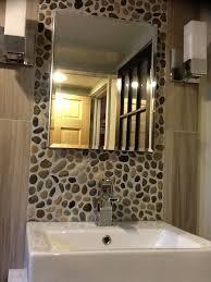 Tiling A Bathroom Floor by 120 Best Backsplash Ideas Pebble And Stone Tile Images On