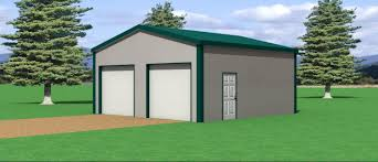 24x36 Garage Plans by Pole Barns