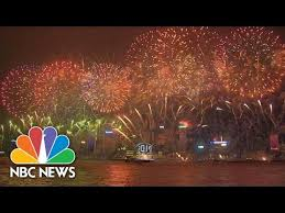 new year celebrations around the world in 2 minutes nbc news