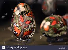 decorated goose eggs zons germany 15th apr 2017 ornately decorated goose eggs by