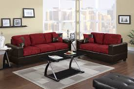 Red And Black Living Room Decor Sofa Magnificent Red Sofa Combination Modern Living Room
