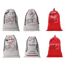 compare prices on personalized christmas santa sack online