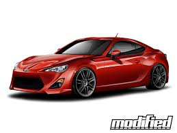 frs with lexus bumper five ad releases body kit for fr s and gt 86 news modified