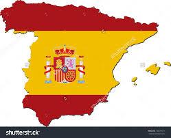 Spanish Flag Flag Black And White Clipart