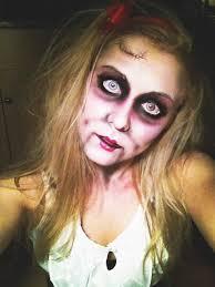 Scary Doll Halloween Costume 42 Halloweeeeeenie Images Halloween Ideas