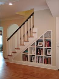 Wood Storage Shelf Designs by Best 25 Shelves Under Stairs Ideas On Pinterest Stair Storage