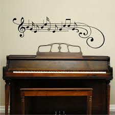 treble clef and notes wall quotes wall art decal wallquotes com