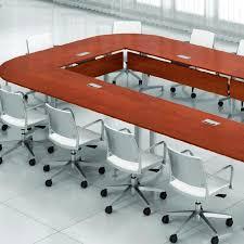 Krug Conference Table Contemporary Conference Table Wood Veneer Laminate Plastic