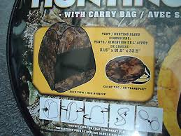 Pop Up Hunting Blinds New Cabela U0027s Outdoor Hunter Hunting Blind Kids Camo Tent Pop Up W