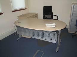 Kidney Shaped Executive Desk Meridian U Shaped Desk Used Desks Narrow Tables Hutch Oak Person