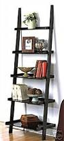 Wall Shelves Amazon by Amazon Com New Leaning Studio Wall Shelf Ladder Bookcase